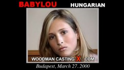 Casting of BABYLOU video