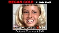 Casting of MEGAN COLE video