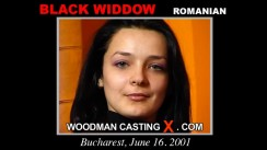 Casting of BLACK WIDDOW video