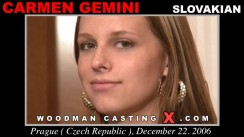 Casting of CARMEN GEMINI video