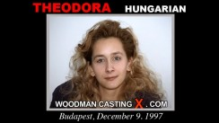 Casting of THEODORA video
