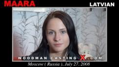 Casting of MAARA video