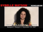 See the audition of Sybelle Watson