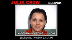 Casting of JULIA CROW video