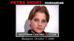Casting of PETRA SHORT video