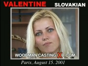 See the audition of Valentine