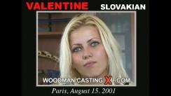 Casting of VALENTINE video