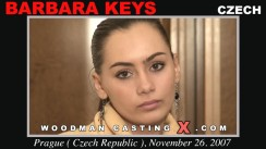 Casting of BARBARA KEYS video