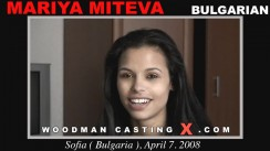 Casting of MARIYA MITEVA video