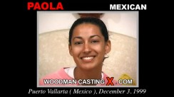 Casting of PAOLA video