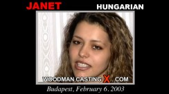 Casting of JANET video
