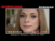 See the audition of Giorgiana