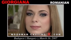 Casting of GIORGIANA video