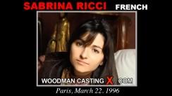 Casting of SABRINA RICCI video
