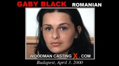 Casting of GABY BLACK video