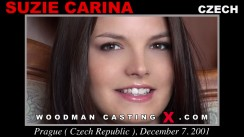 Casting of SUZIE CARINA video