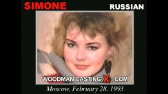 Casting of SIMONE video