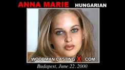 Casting of ANNA MARIE video