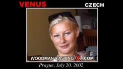 Casting of VENUS video