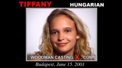 Casting of TIFFANY DIAMOND video