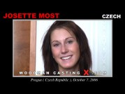 See the audition of Josette Most