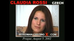Casting of CLAUDIA ROSSI video