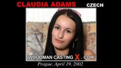 Casting of CLAUDIA ADAMS video