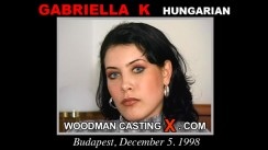 Casting of GABRIELLA K video