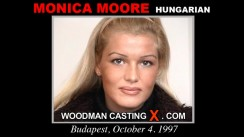 Casting of MONICA MOORE video
