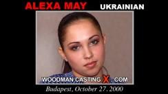 Casting of ALEXA MAY video