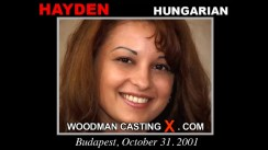 Casting of HAYDEN video