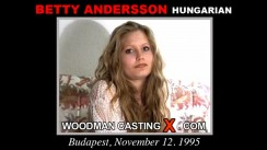 Casting of BETTY ANDERSSON video