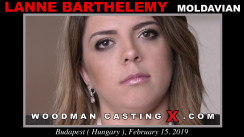 Access Lanne Barthelemy casting in streaming. A Moldovan girl, Lanne Barthelemy will have sex with Pierre Woodman.