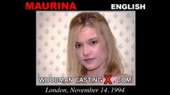 Casting of MAURINA video