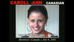 Casting of CAROLL - ANN video