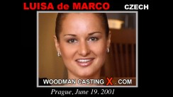 Casting of LUISA de MARCO video