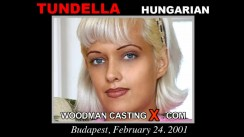 Casting of TUNDELLA video