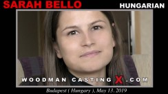 Access Sarah Bello casting in streaming. Pierre Woodman undress Sarah Bello, a Hungarian girl.