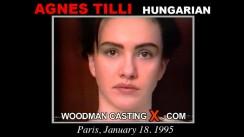 Casting of AGNES TILLI video