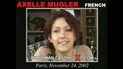Casting of AXELLE MUGLER video