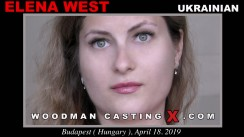 Access Elena West casting in streaming. A Ukrainian girl, Elena West will have sex with Pierre Woodman.