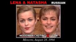 Casting of LENA and NATASHA video