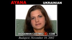 Casting of AYANA video