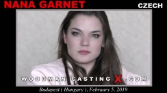 Access Nana Garnet casting in streaming. A Czech girl, Nana Garnet will have sex with Pierre Woodman.
