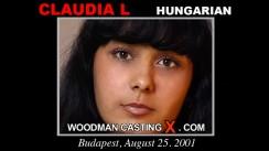 Casting of CLAUDIA L video