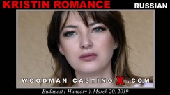 Look at Kristin Romance getting her porn audition. Erotic meeting between Pierre Woodman and Kristin Romance, a Russian girl.