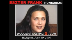 Casting of ESZTER FRANK video