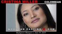 Casting of CRISTINA MILLER video