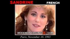 Casting of SANDRINE video