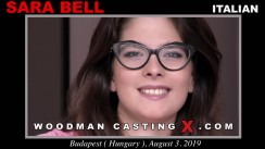 Access Sara Bell casting in streaming. Pierre Woodman undress Sara Bell, a Italian girl.